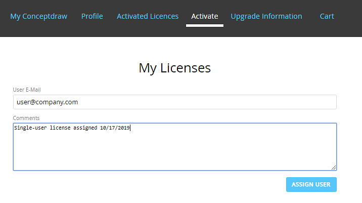 How to Manage ConceptDraw Multi-UserLicense