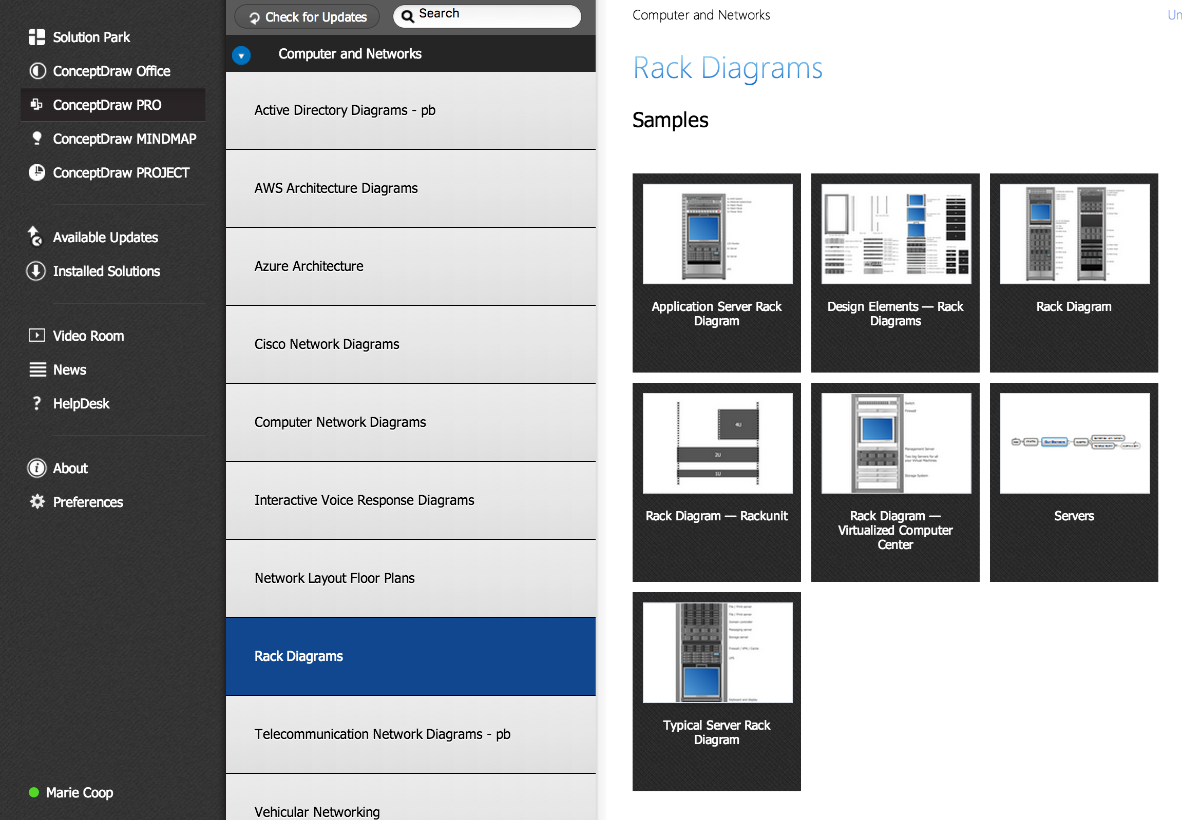 Server Rack Wiring Diagram Solutions Network Diagrams With Conceptdraw Pro Diagramming Tools Design Element For