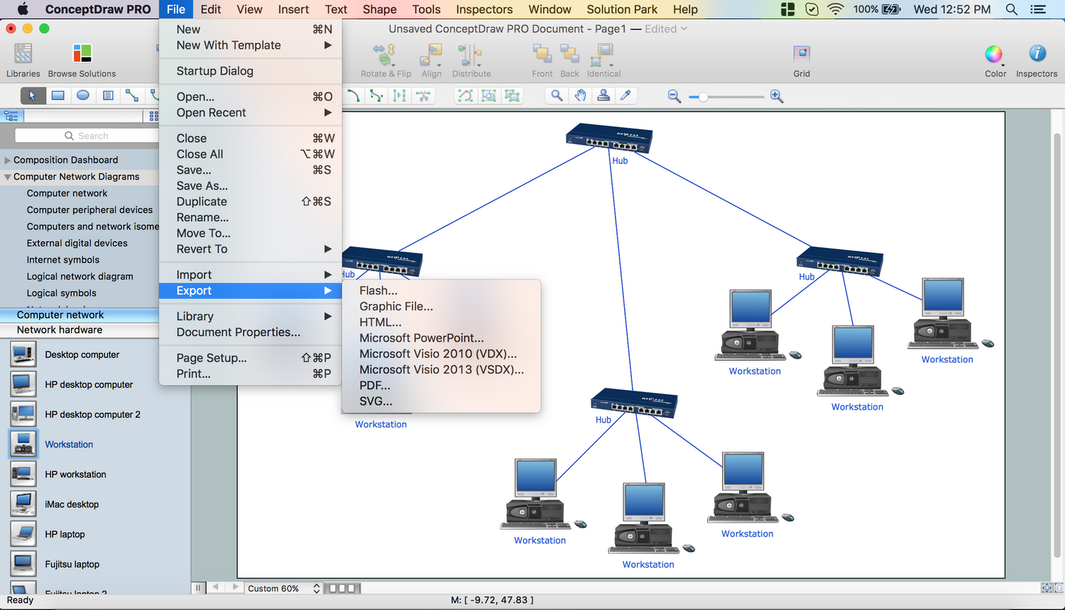 Network Topology Mapper, How To Create Network Topology Diagram