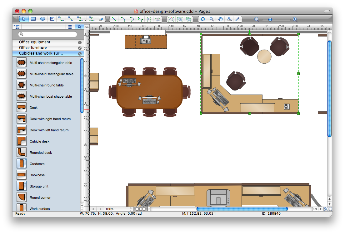 Office design software for Building layout software