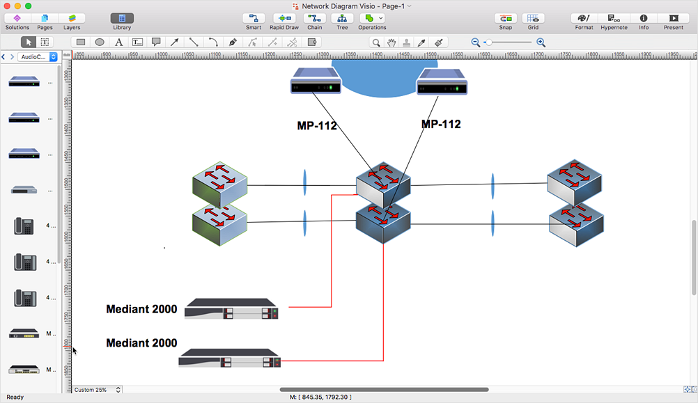 How to Convert MS Visio® 2003-2010  File to  <nobr>ConceptDraw DIAGRAM</nobr> *