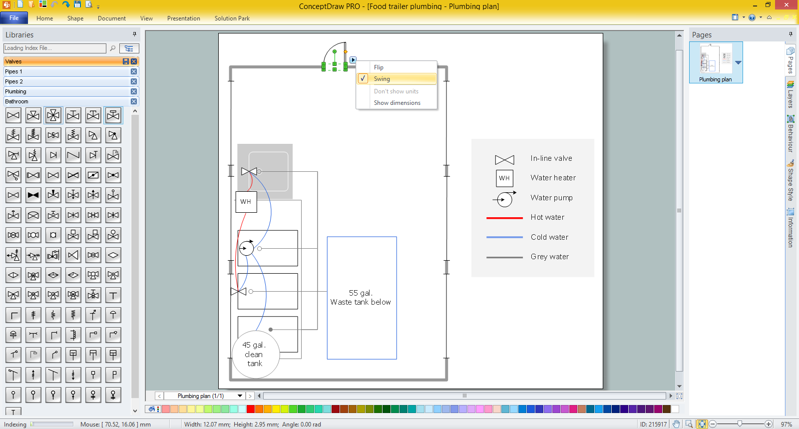 Piping and Instrumentation Diagram Software