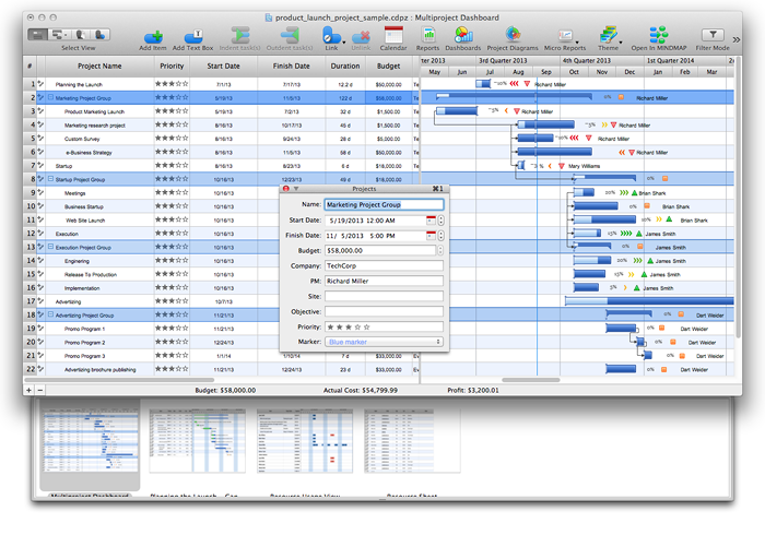 How to Create Presentation of Your Project Gantt Chart – Sample Management