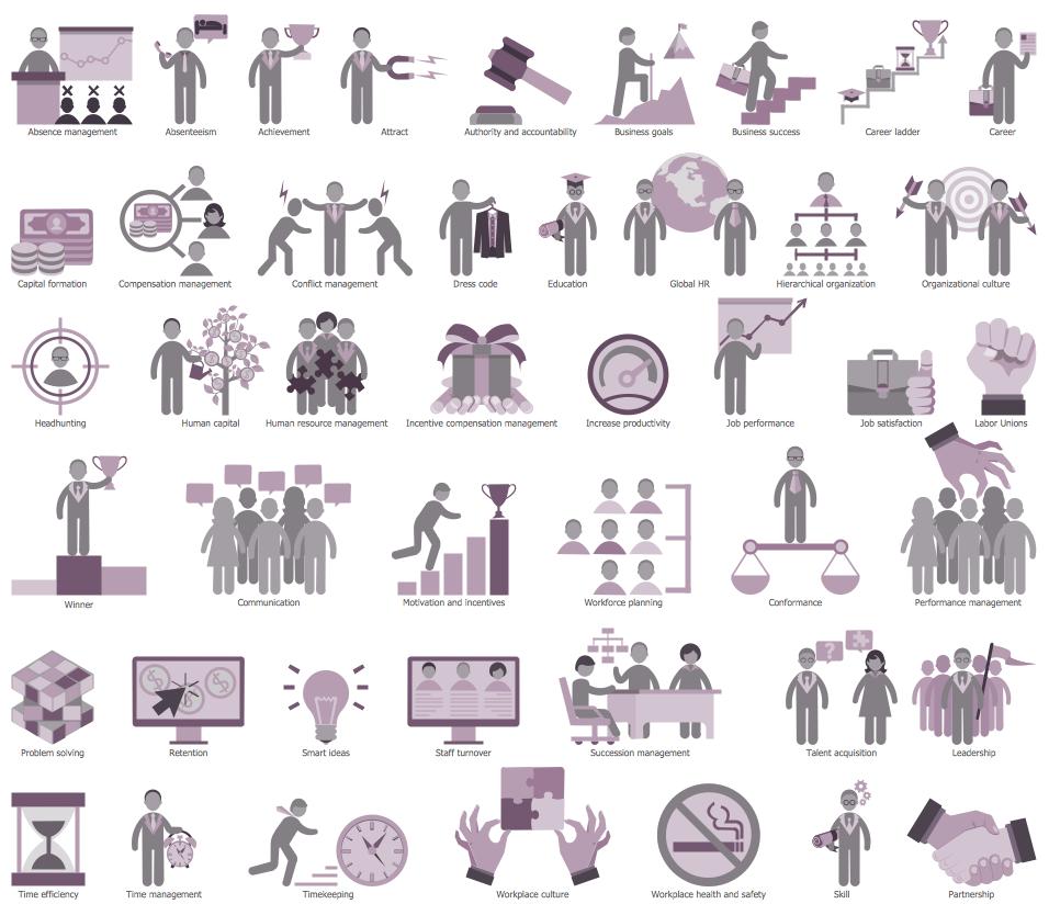 HR Symbols Library