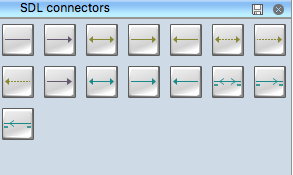 SDL Connectors Symbols Library