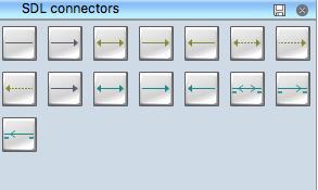 SDL Connectors Symbols Library