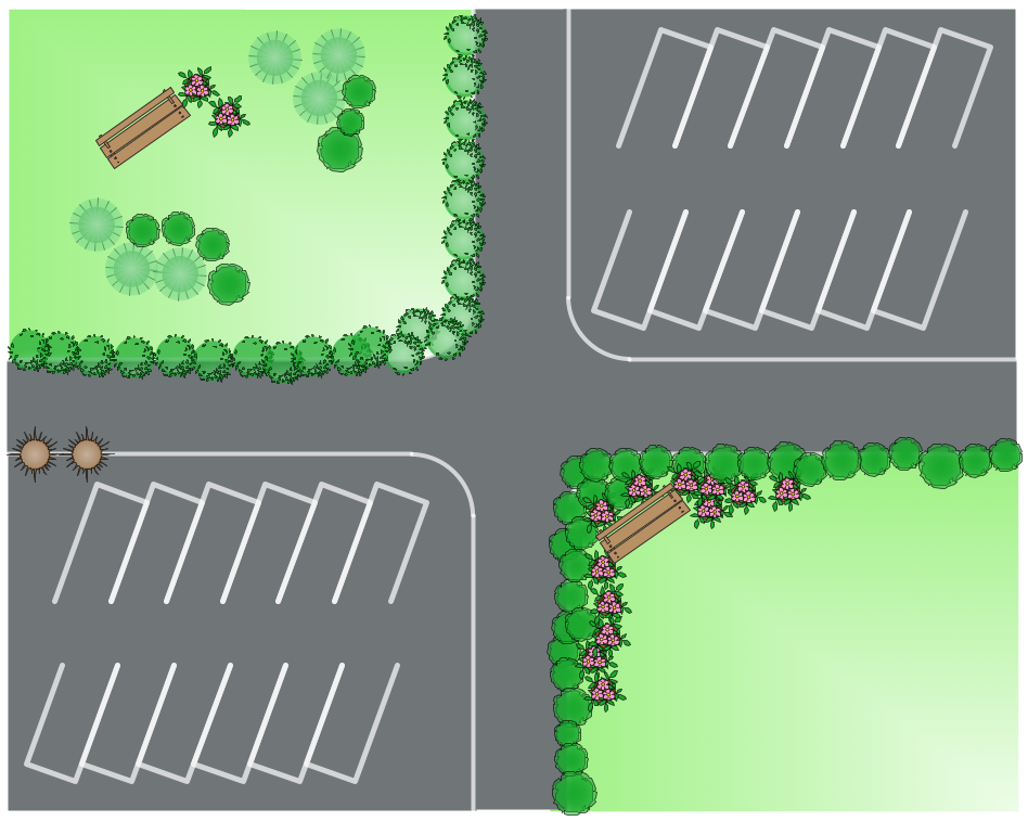Season landscape design