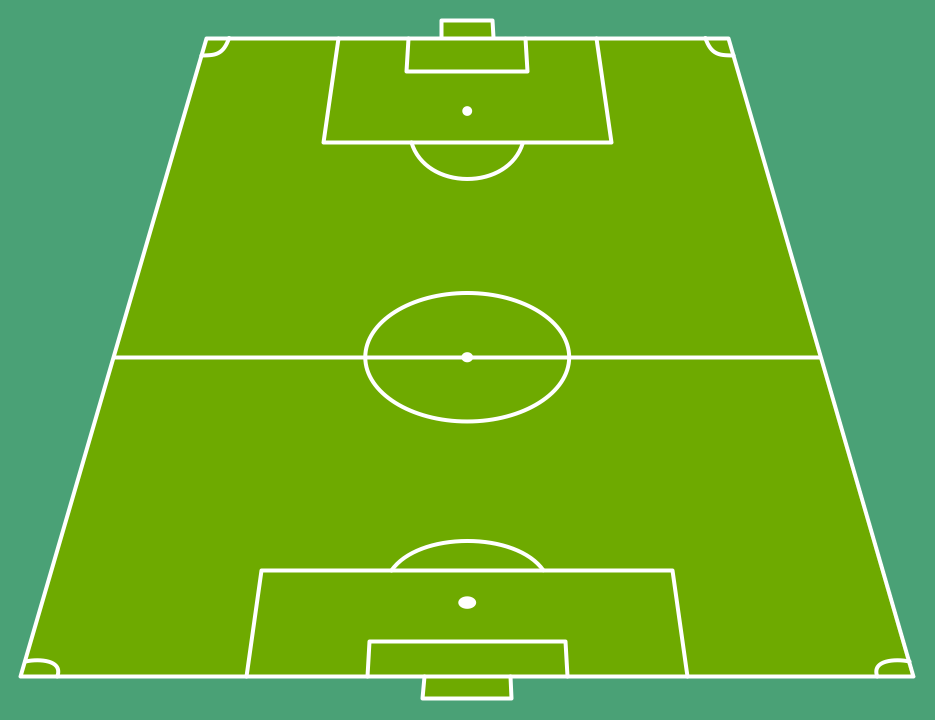 Soccer football field templates for Soccer team positions template