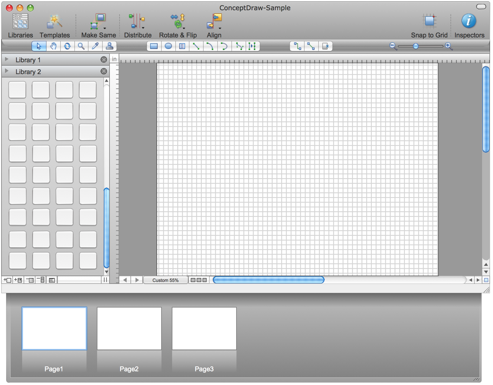 GUI Interface Mac OS