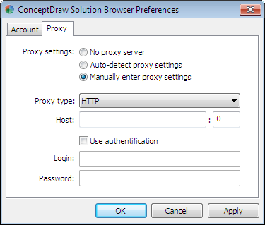 how to find out companies proxy settings