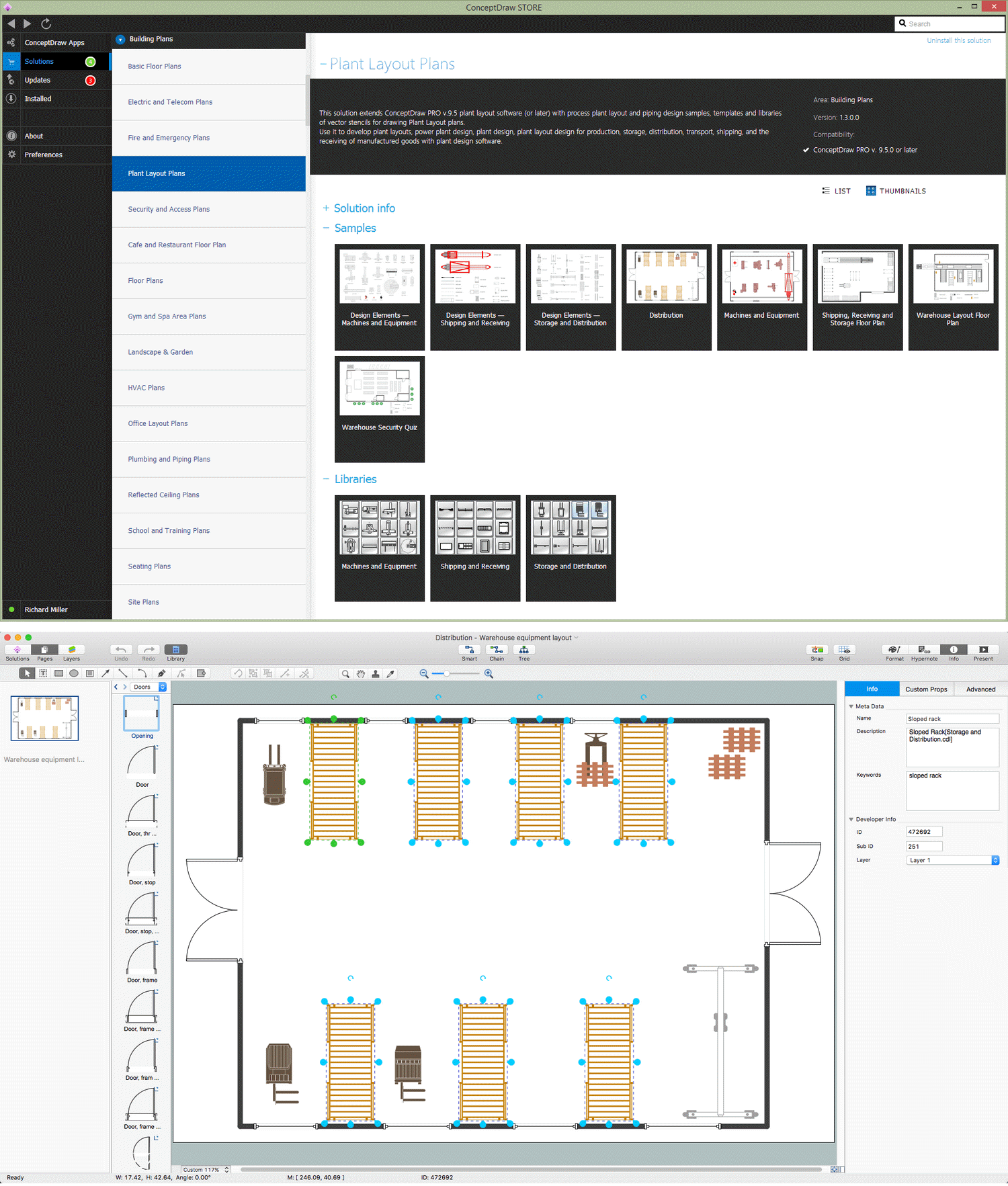storage design software rh conceptdraw com