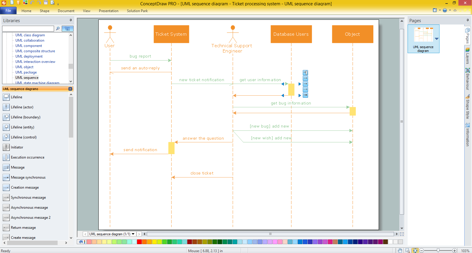 Sequence diagram creation tool download wiring diagrams uml sequence diagram example svg vectored uml diagrams tools rh conceptdraw com sequence diagram draw tool ccuart Image collections
