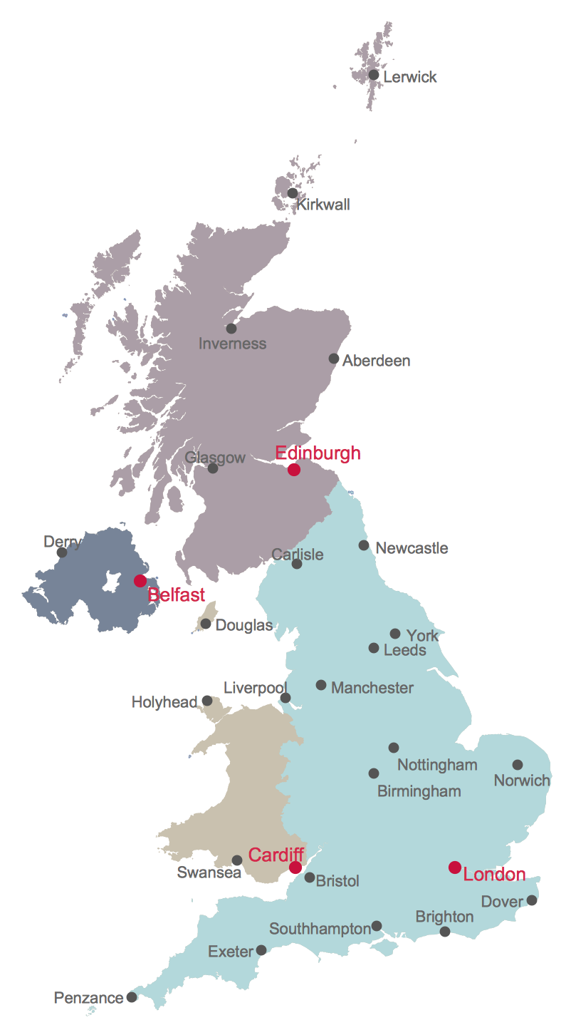 Map Of England Showing Yorkshire.Uk Map