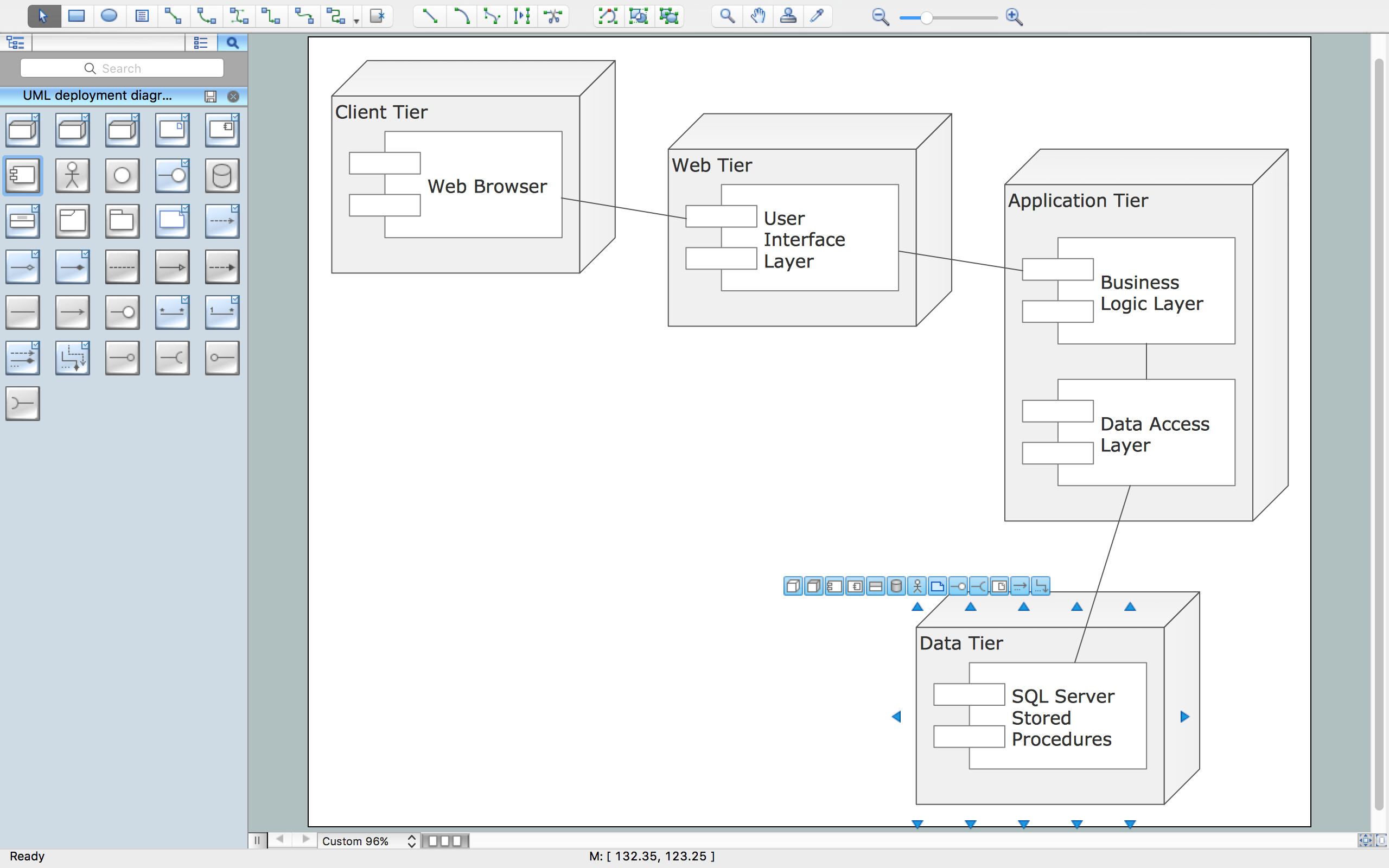 Uml deployment diagram design elements uml deployment diagram ccuart Choice Image