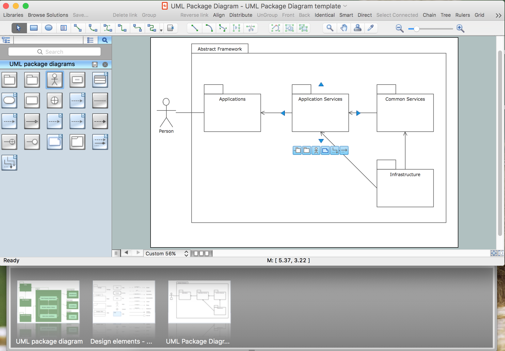 Uml Package Diagram  Design Elements