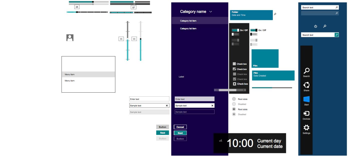 Windows 8 User Interface Design Examples - Windows 8 App