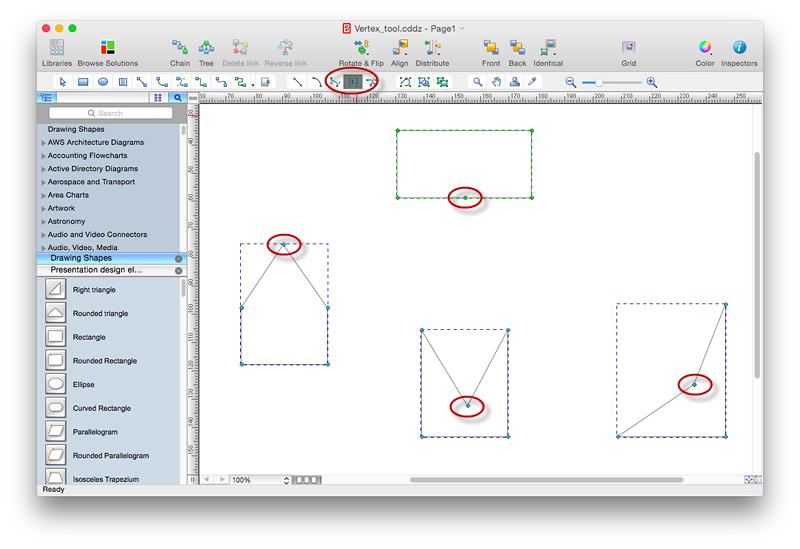 conceptdraw vertex tool for mac
