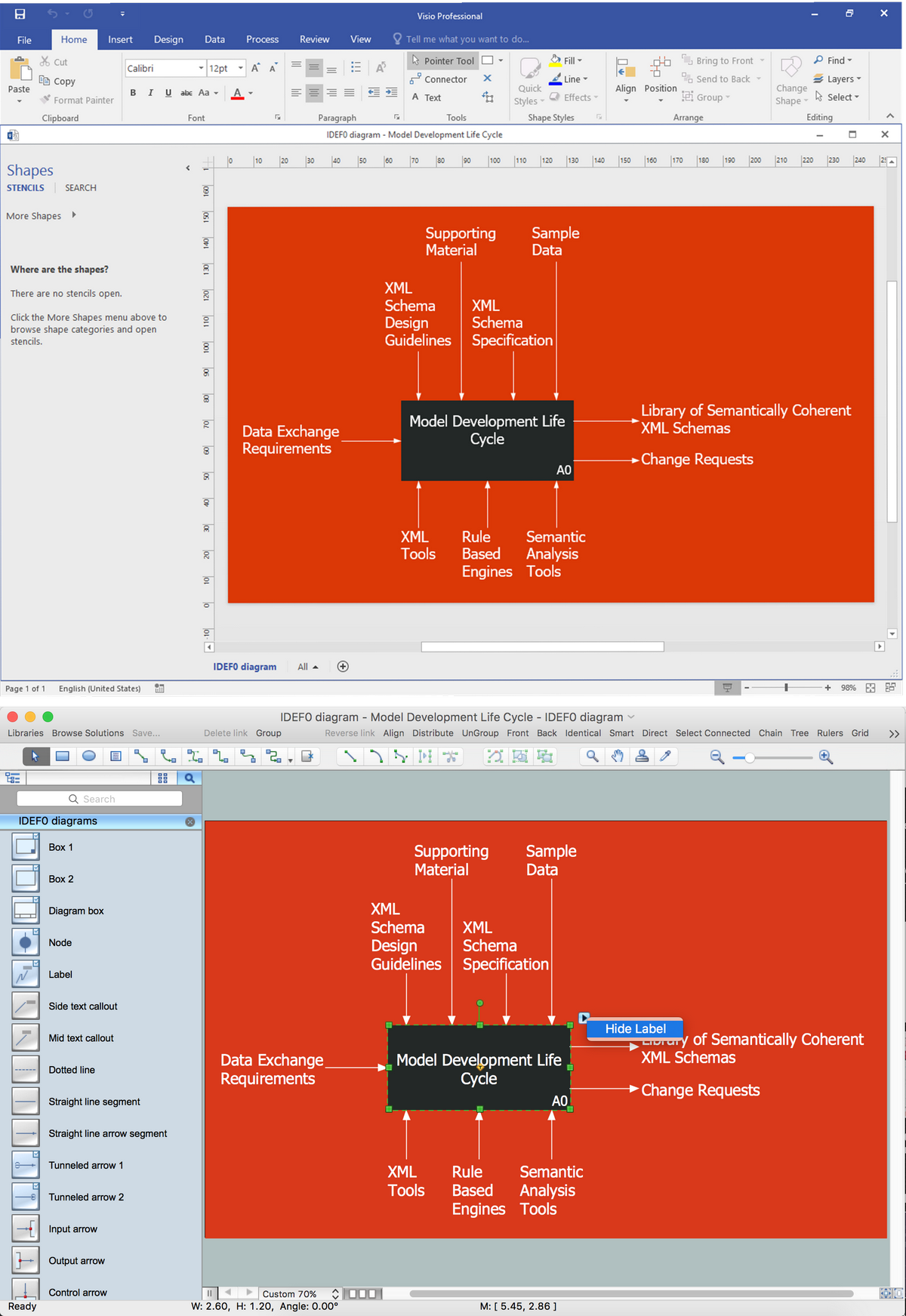 Import MS Visio Files