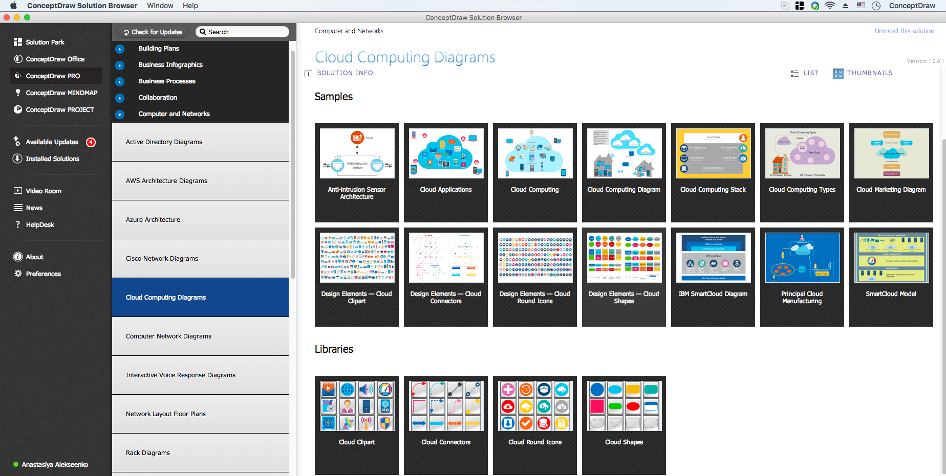 Cloud Computing Diagrams Solution in ConceptDraw STORE