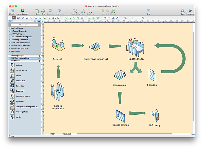 How to Convert MS Visio® 2010 VSD File to ConceptDraw PRO
