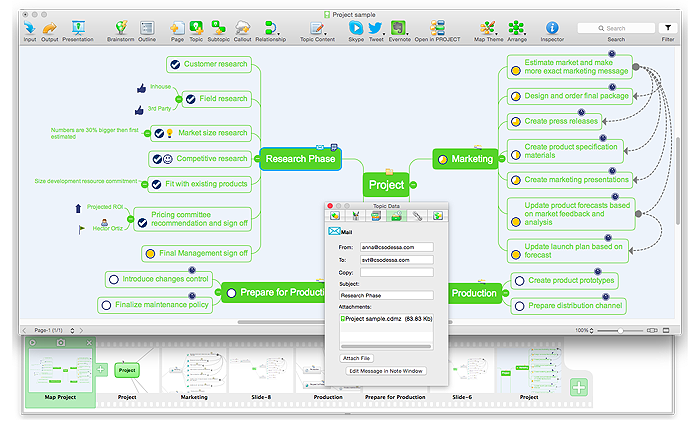 screenshot 1 for conceptdraw mindmap play video - Conceptdraw Mind Map