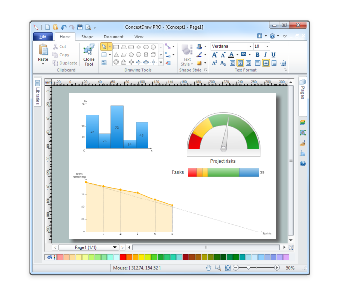 ConceptDraw Office Pro full screenshot