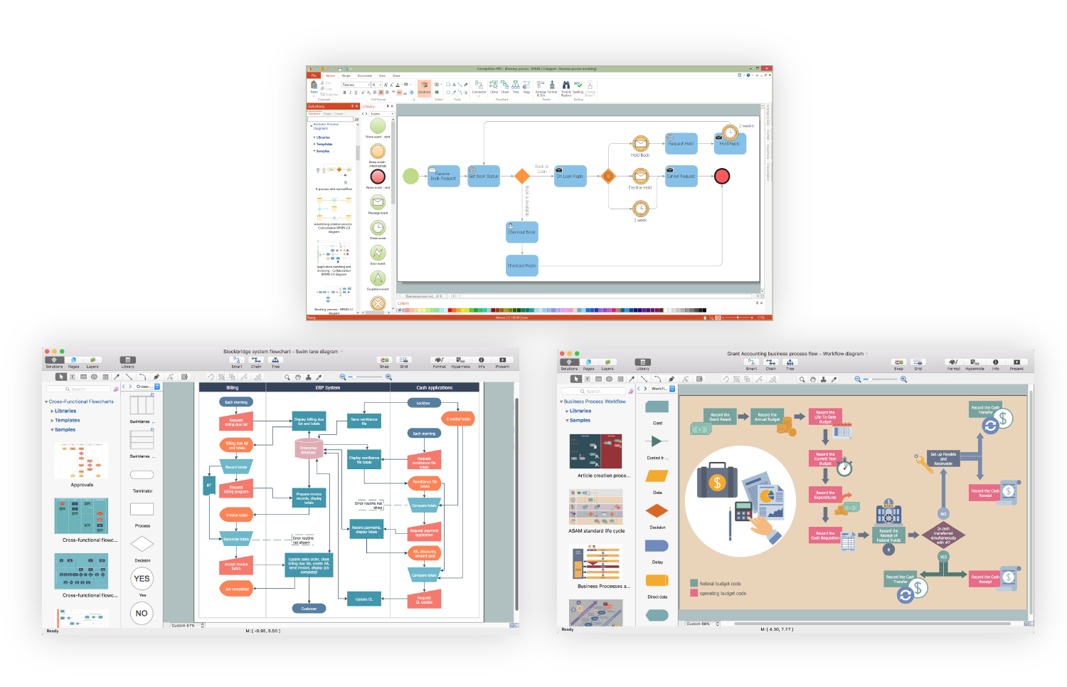 Diagramming abcs conceptdraw diagramming tool ccuart Gallery