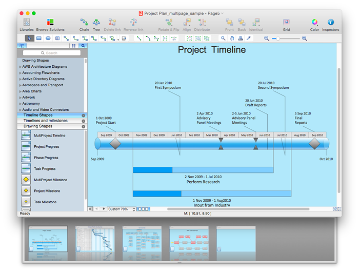 ConceptDraw PRO diagramming tool