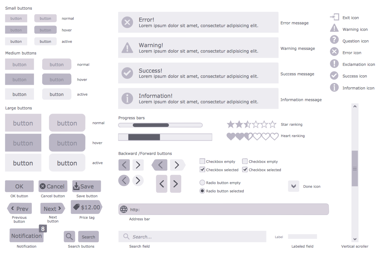 CS Odessa Announces Website Wireframe Solution for ConceptDraw PRO v10