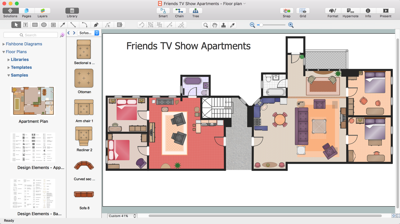 Diagram software and drawing tool conceptdraw for Building floor plan software