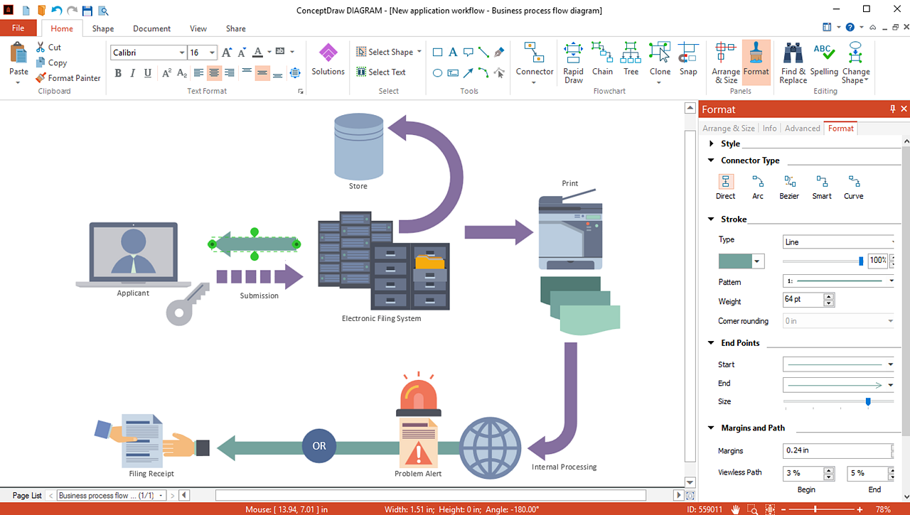 Conceptdraw Diagram Features Overview