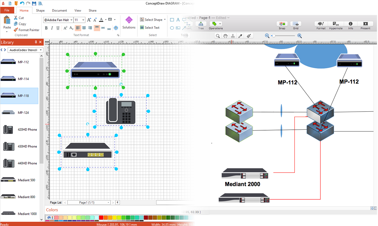 Conceptdraw Diagram V12 Features Overview