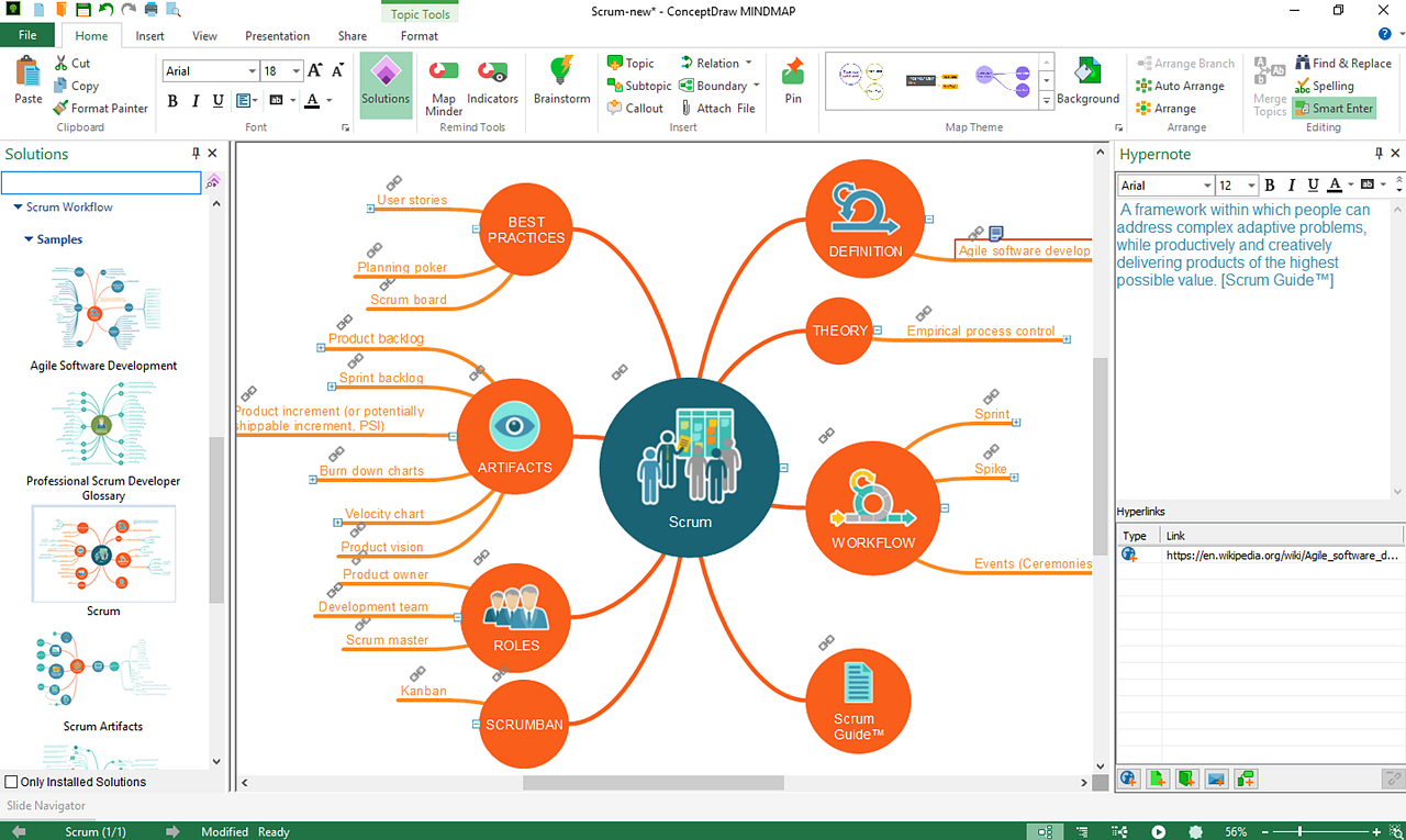 Mind Mapping Software Planning And Brainstorming Tool Conceptdraw