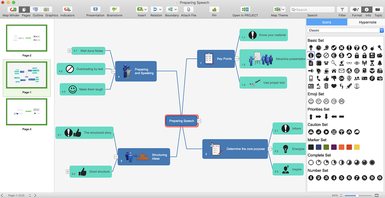 Mind Mapping Software, Planning and Brainstorming Tool | ConceptDraw