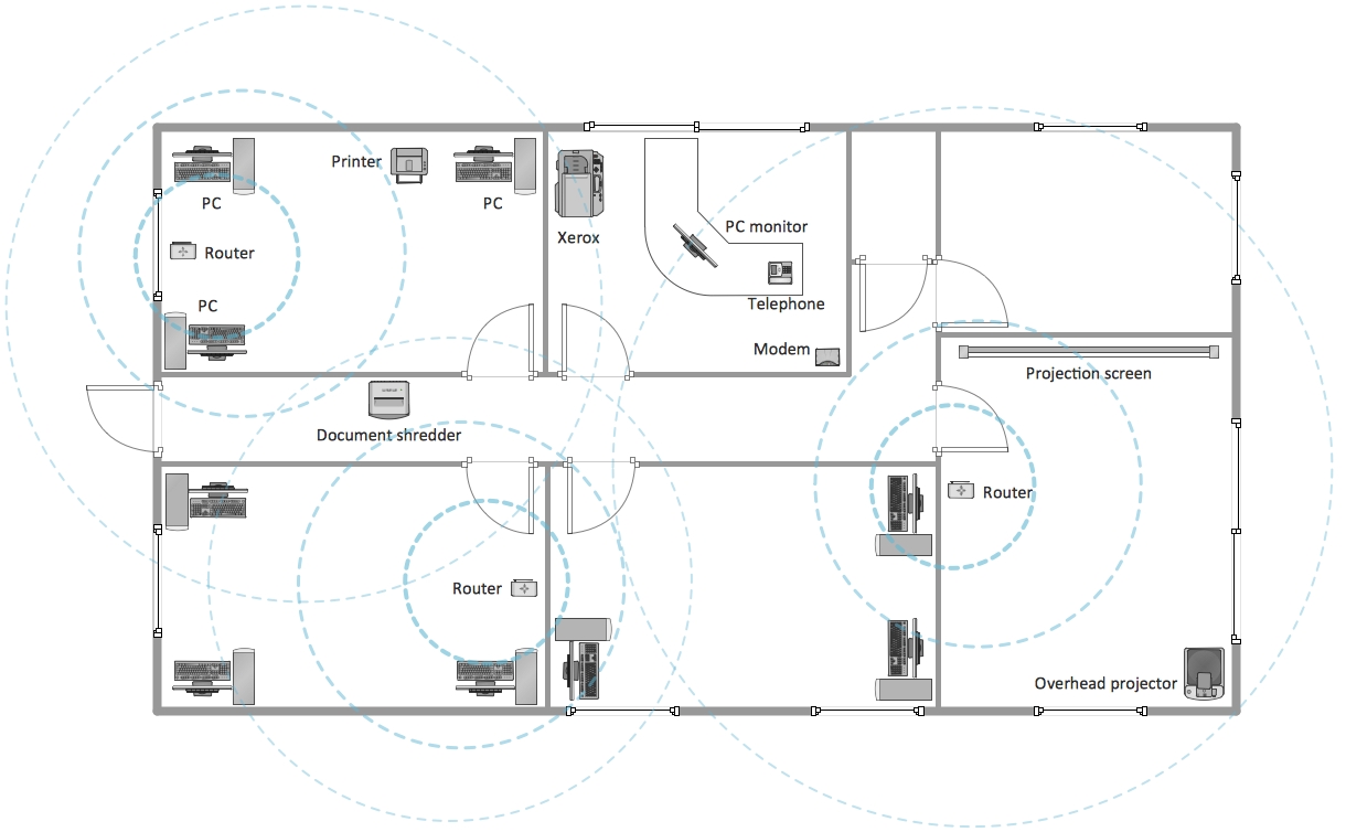 Sample 5: Office Wireless Network Plan