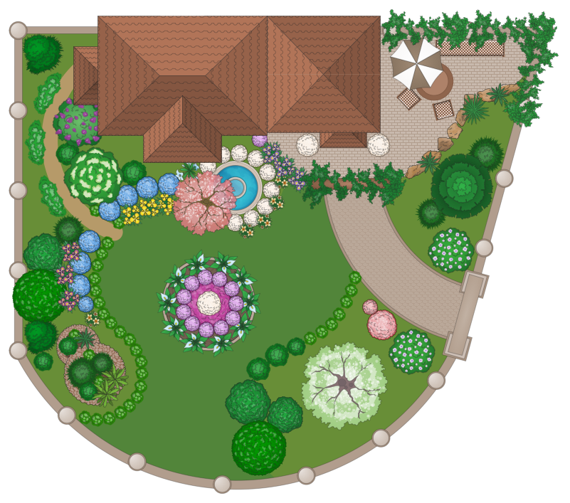 Sample 6 Domestic Garden