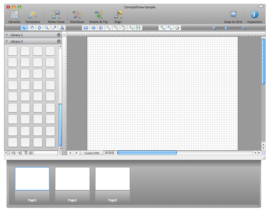 sample 1 conceptdraw interface mac - Conceptdraw For Mac