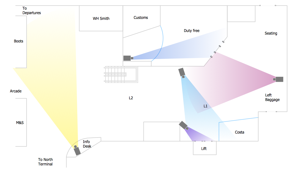 Conceptdraw Samples Building Plans Security And Access