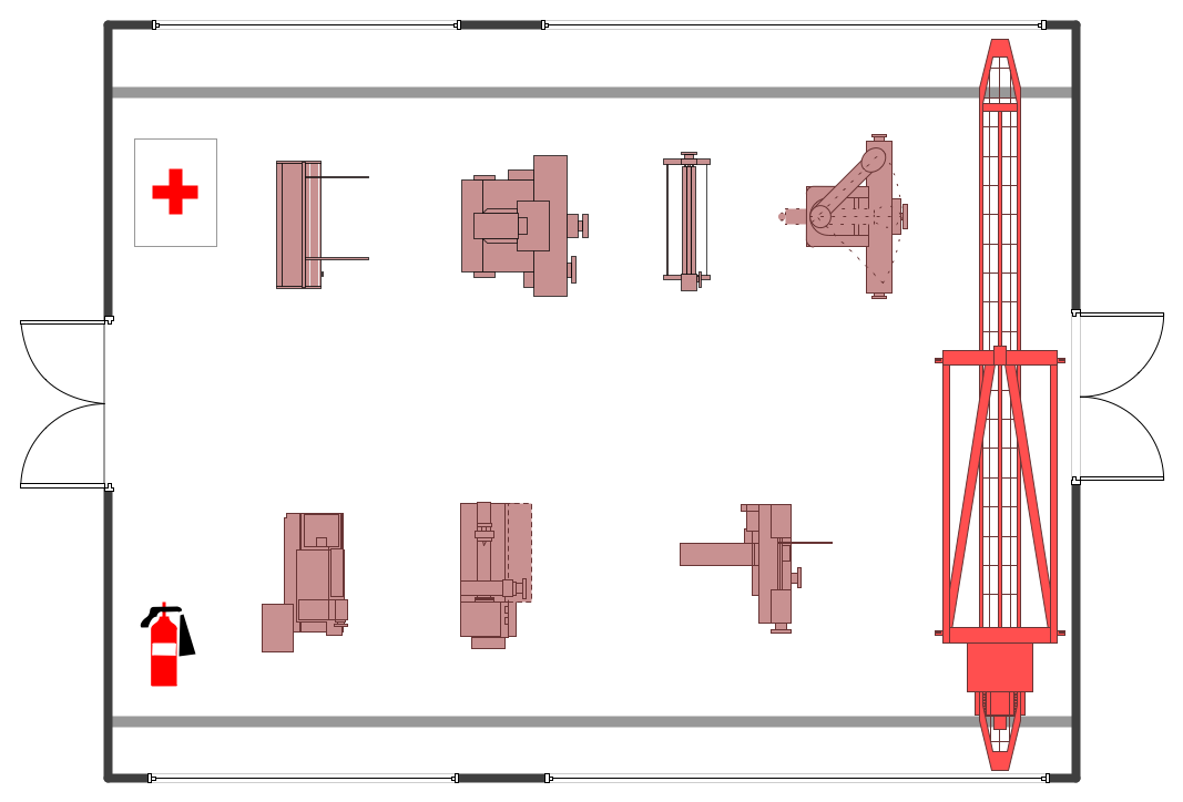 Conceptdraw Samples Building Plans Plant Layout