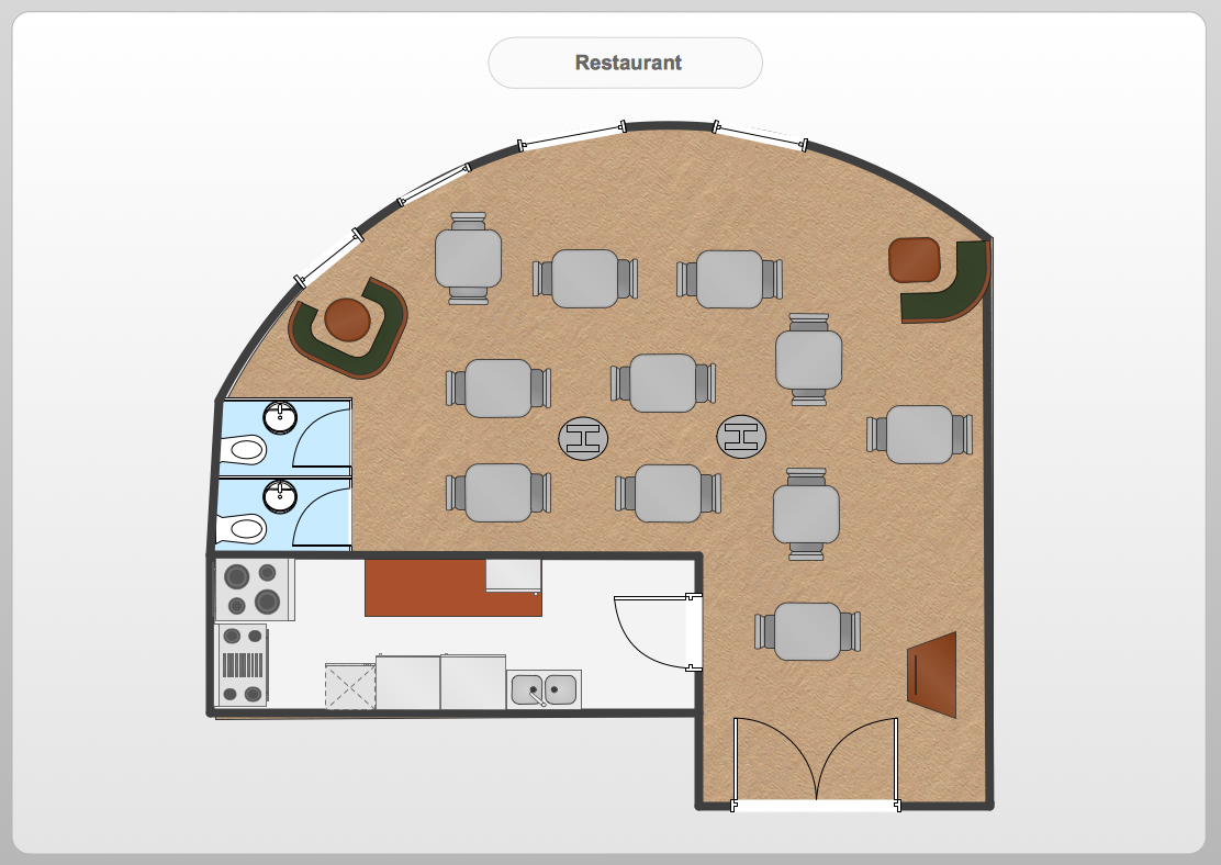 Restaurant floor plans templates - Sample 26 Floor Plan Restaurant