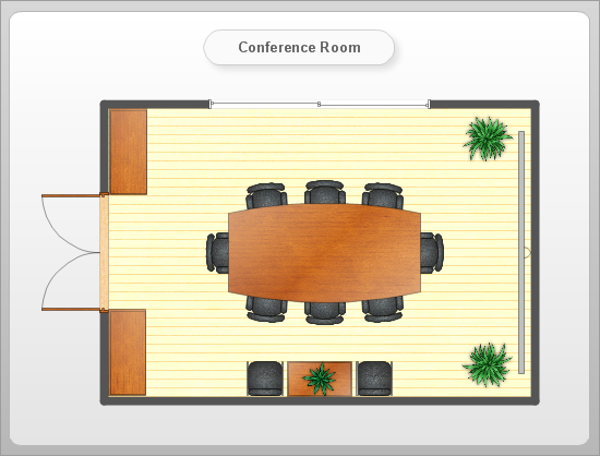 Sample 15 Floor Plan Conference Room