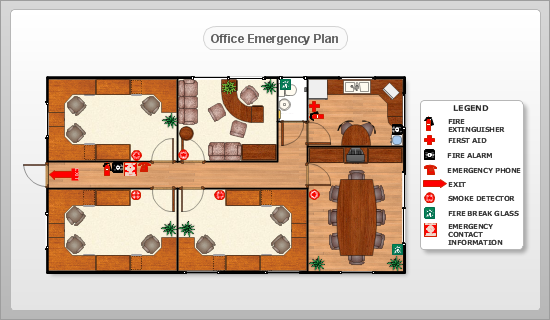Astonishing Conceptdraw Samples Floor Plan And Landscape Design Largest Home Design Picture Inspirations Pitcheantrous