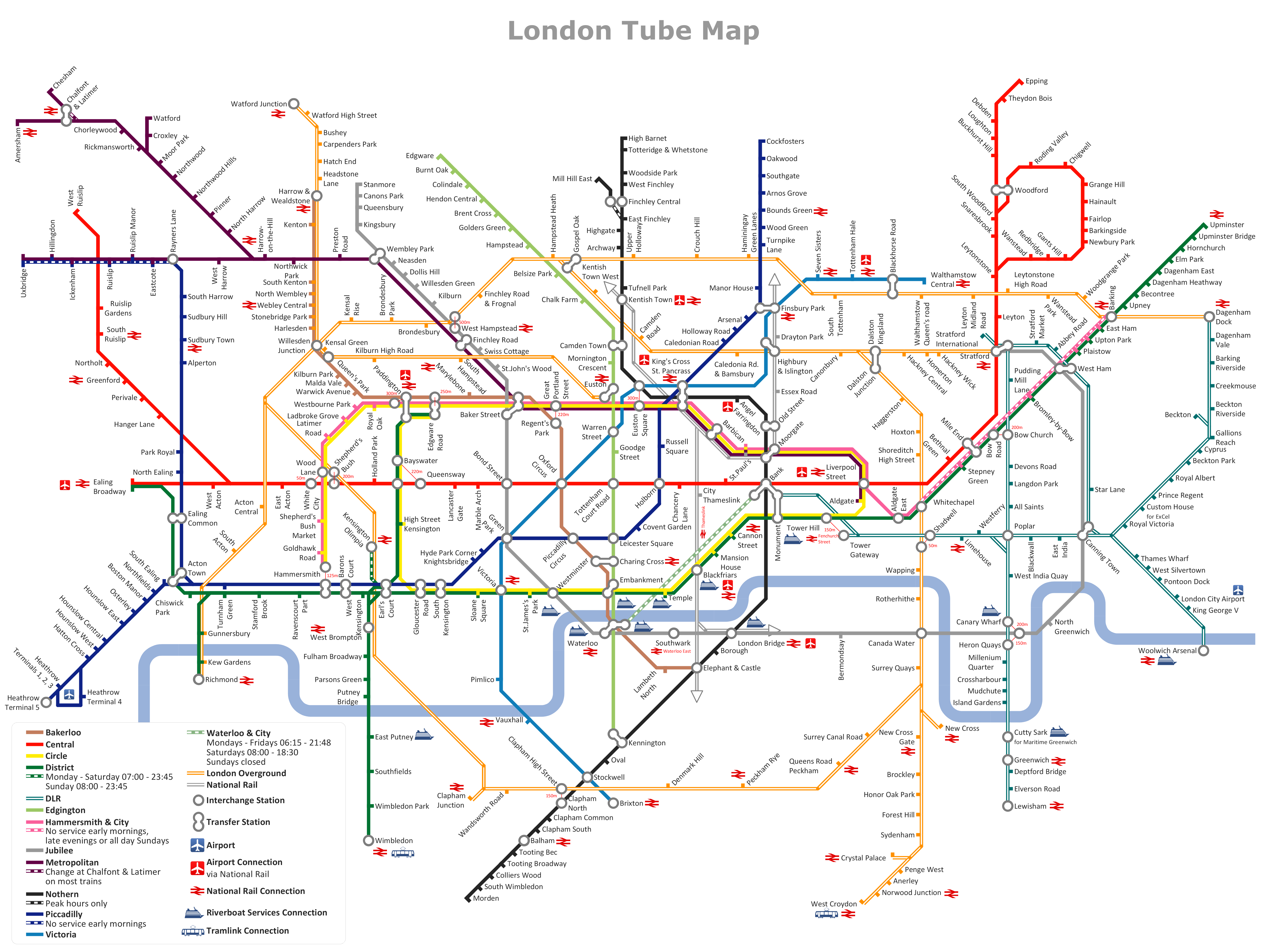 Calendar london metro map for Map drawing program