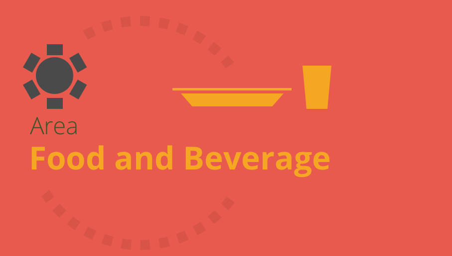f&b, food and beverage