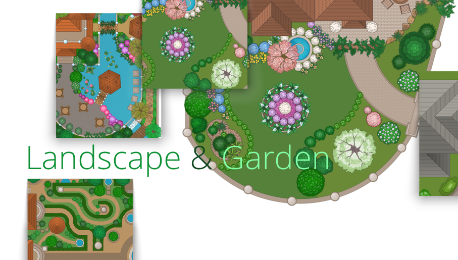 Landscape Garden How To use Landscape Design Software Bubble