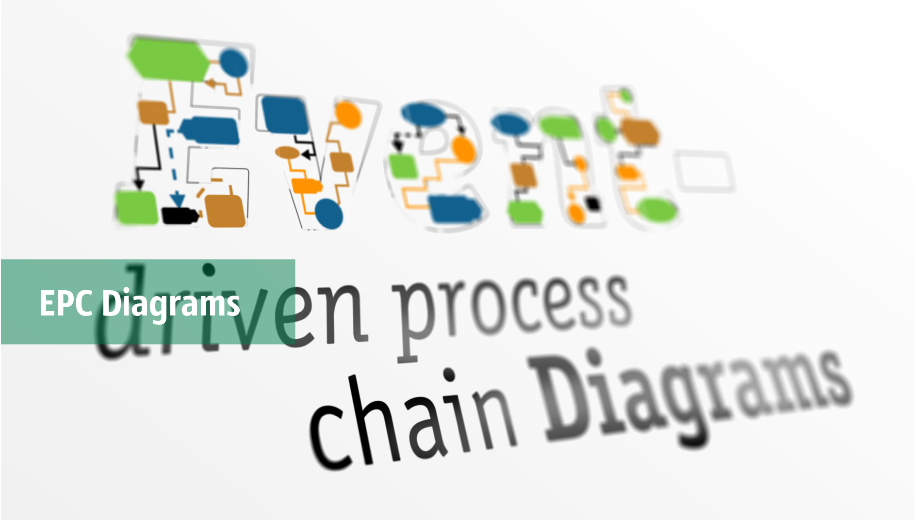 event-driven process chain diagram, EPC diagram, process chain flowchart