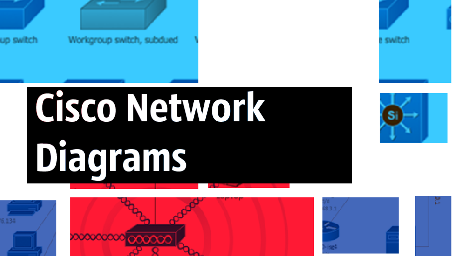 Cisco networking, Cisco network design,Cisco stencils