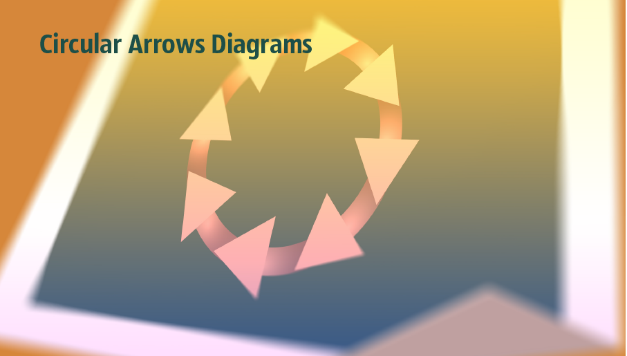 segmented cycle diagram, marketing diagrams, circular arrows diagrams