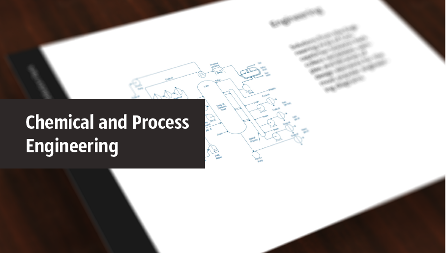 chemical and process engineering diagram, process flow
