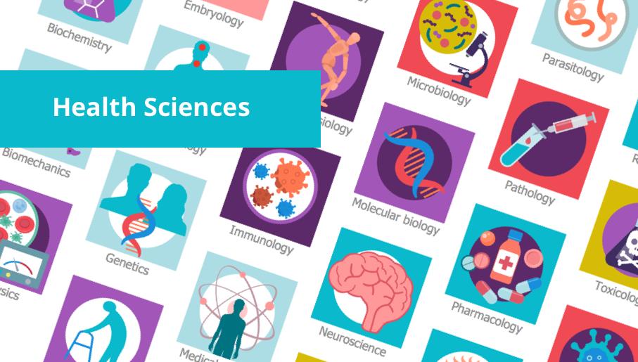 health science, allied health, public health, internal medicine